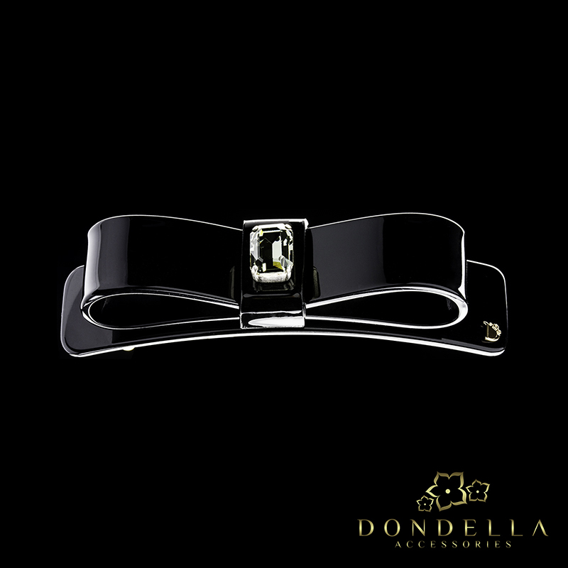 Dondella Classic Crystal Bow