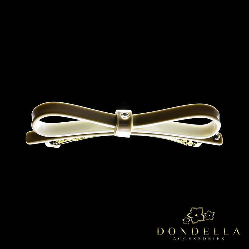 Dondella Classic Beige Bow
